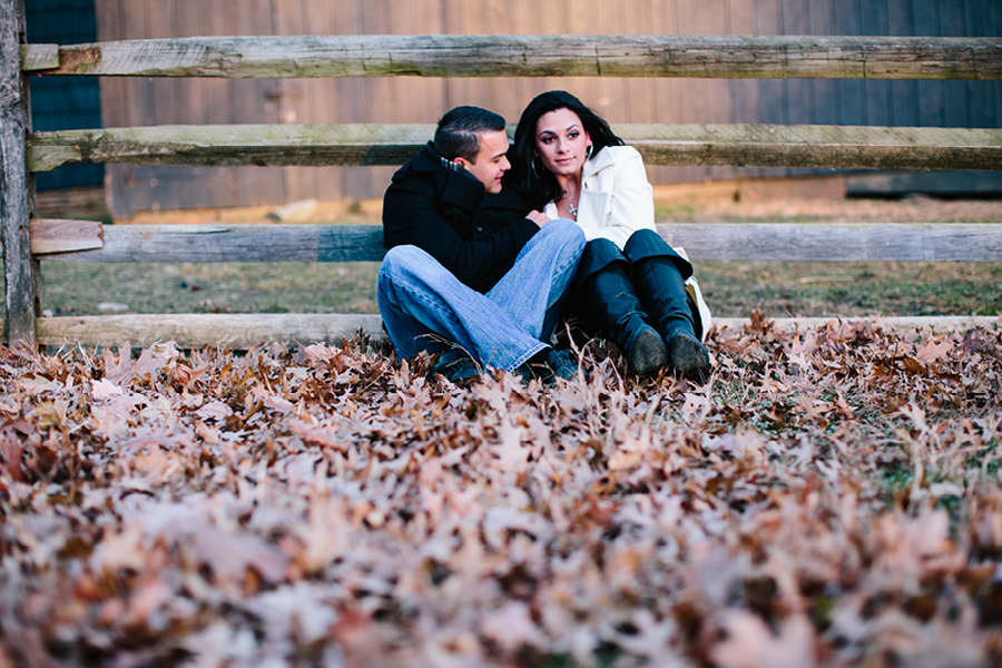 Rustic Engagement Photos in NJ