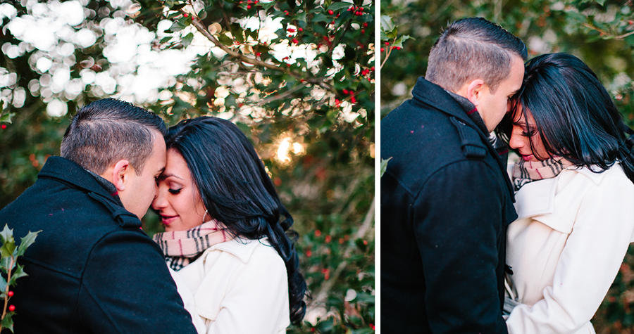 Winter Engagement Photos in NJ