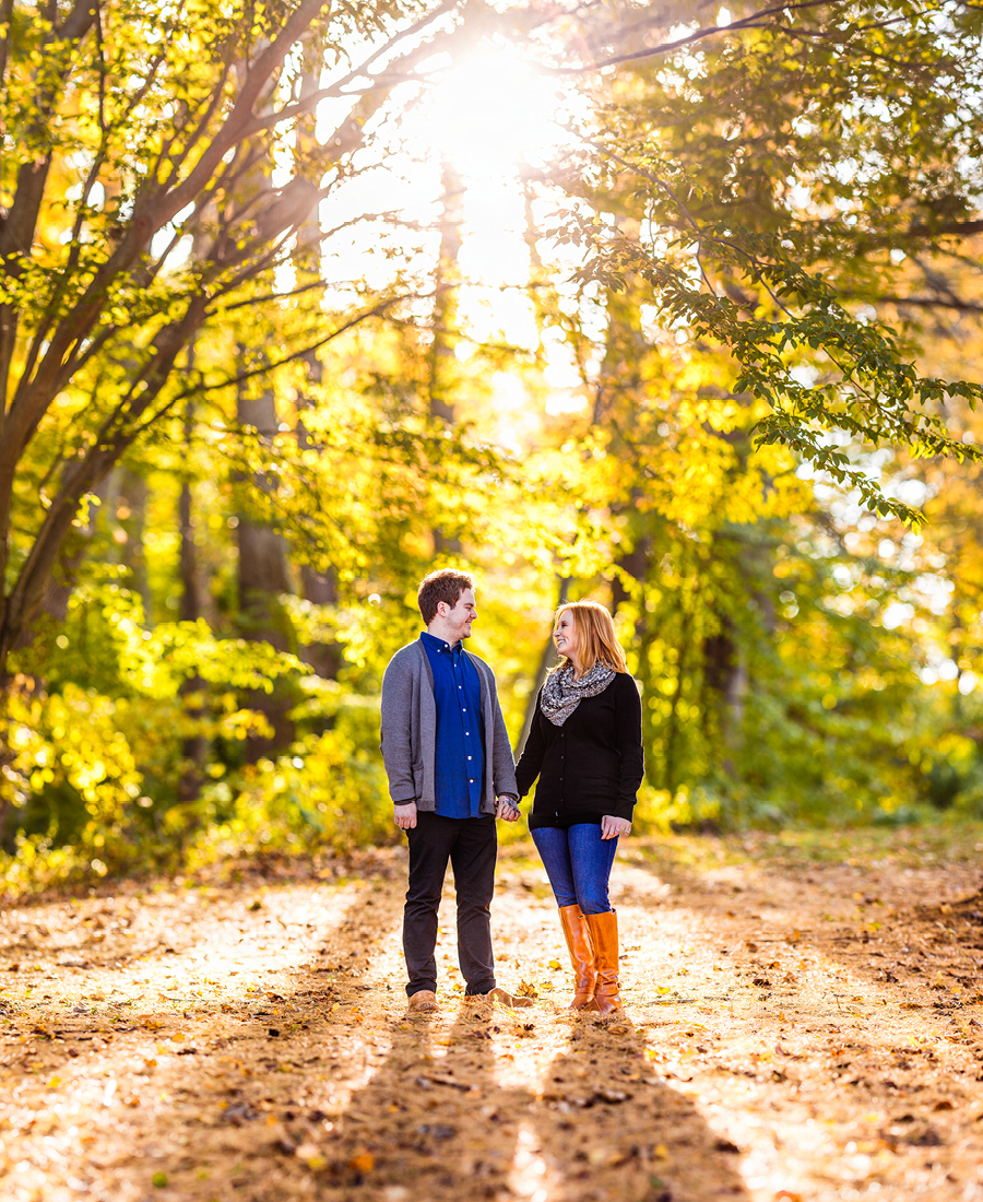 Engagement Photos at Holmdel Park