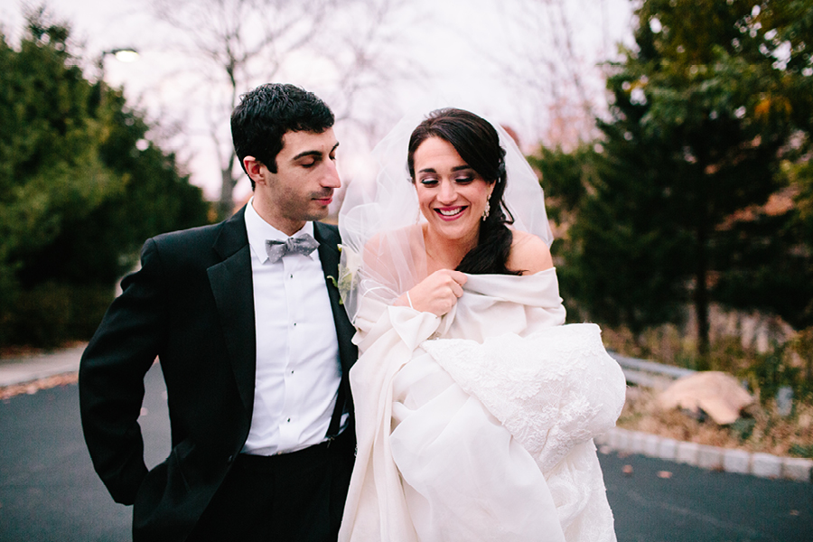Winter Wedding Photo in NJ