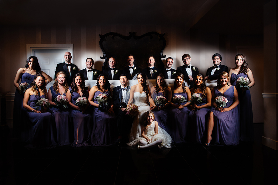Creative Bridal Party Photos NJ