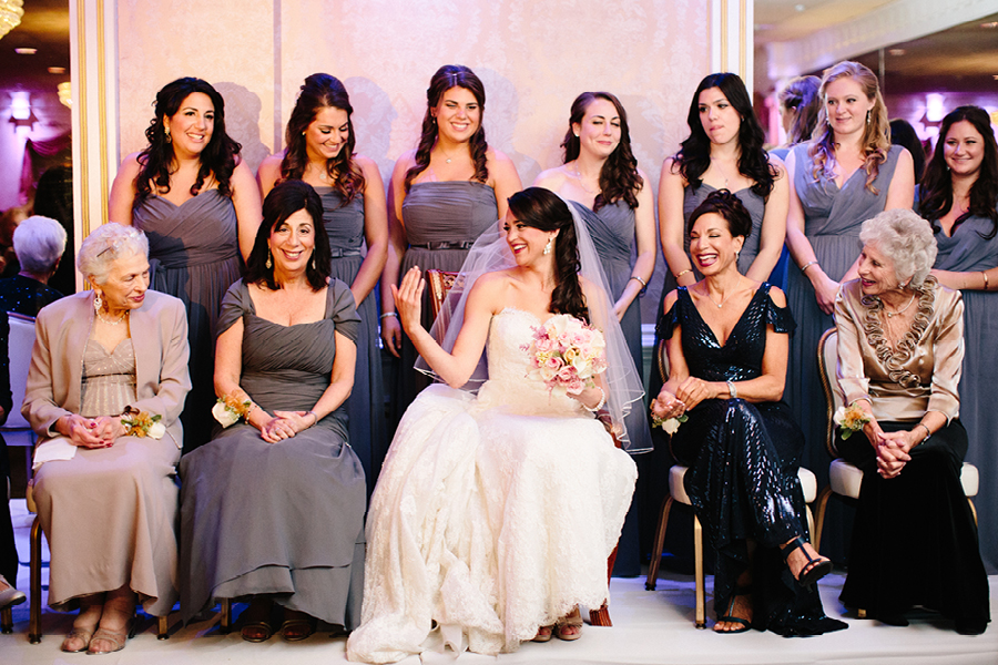 Jewish Wedding at the Wilshire Grand