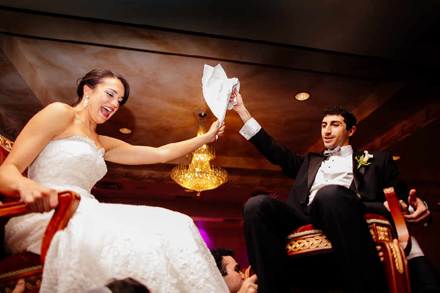 Dancing the Hora Jewish Wedding Photos