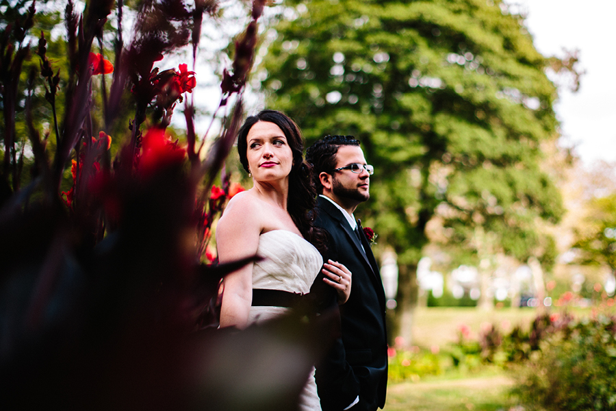 Creative Bride and Groom Portraits