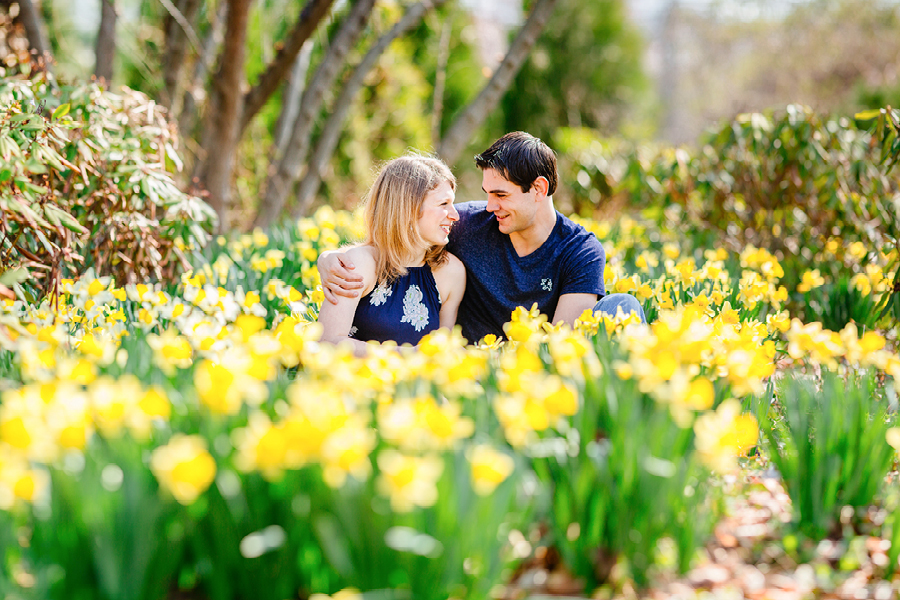 NJ Spring Engagement Session