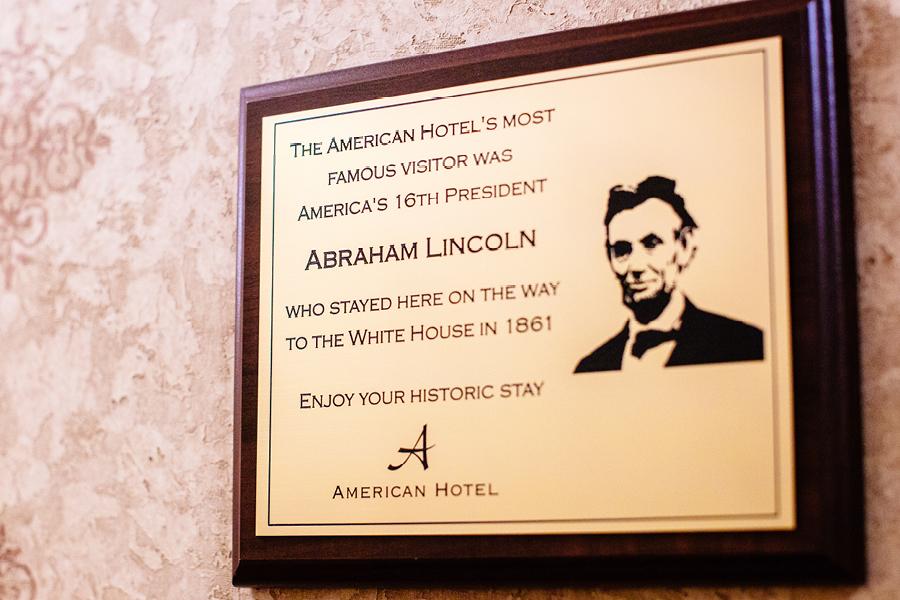 American Hotel Wedding