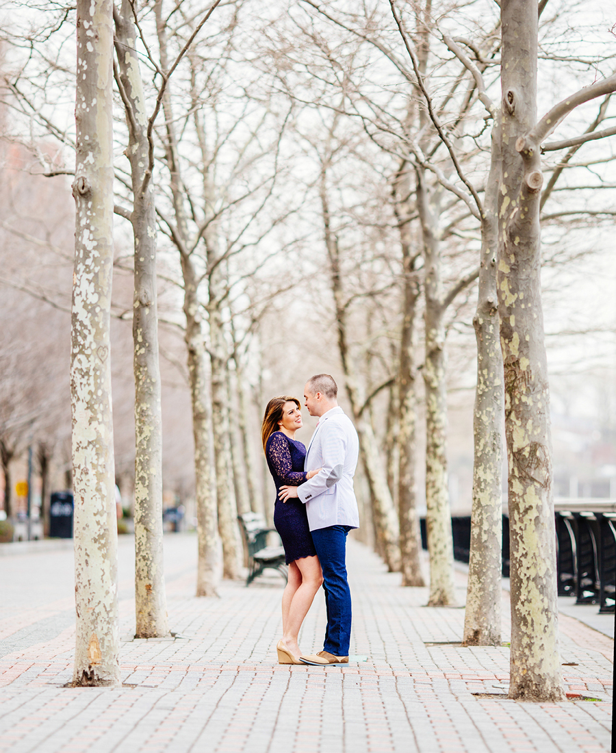 Hoboken NJ Engagement Session