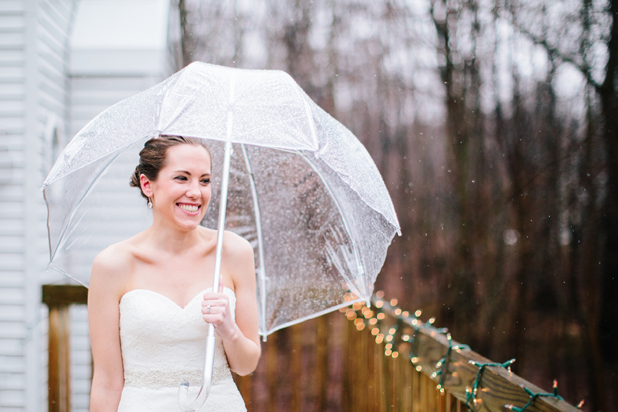 wedding photos in the rain nj