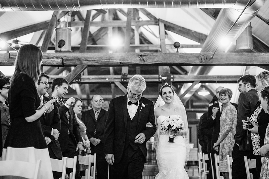 Laurita Winery Wedding Ceremony