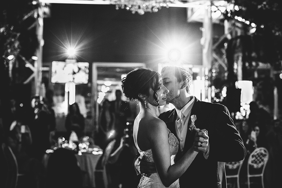 Madison Hotel Wedding first dance