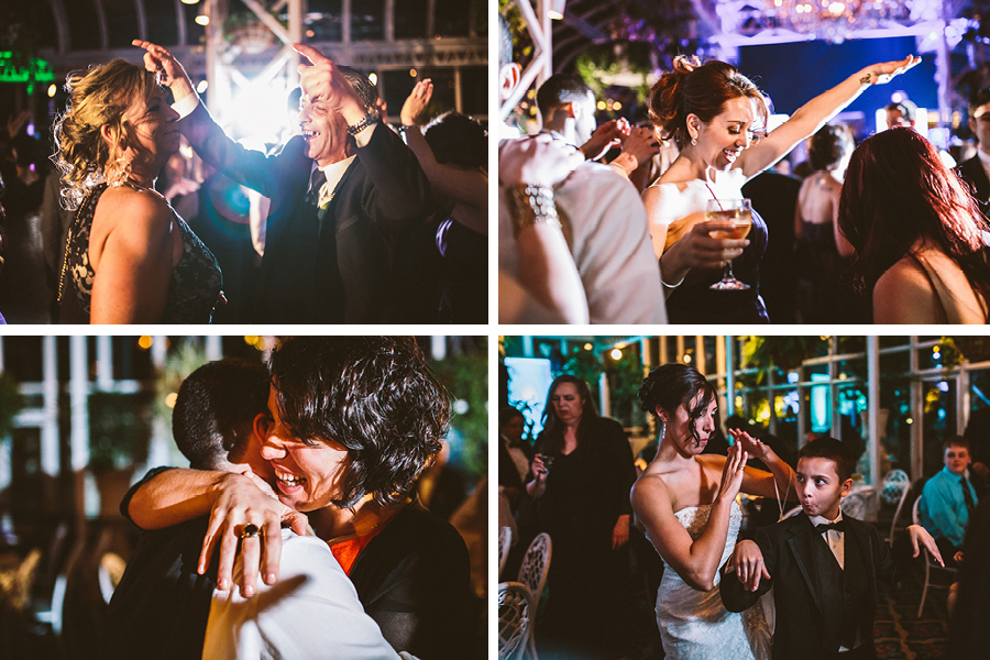 wedding with cinema roll films