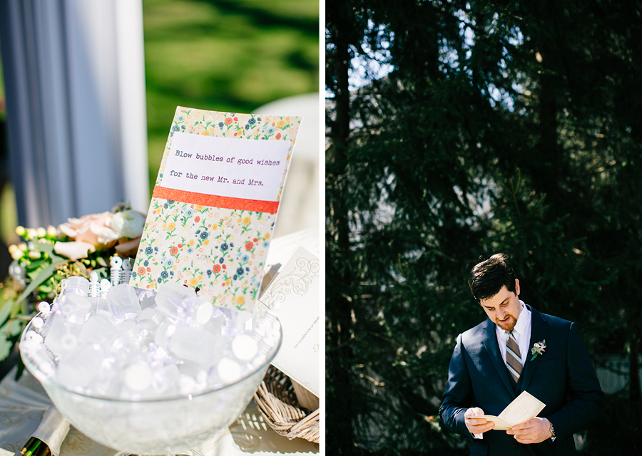 The Grain House Wedding Details