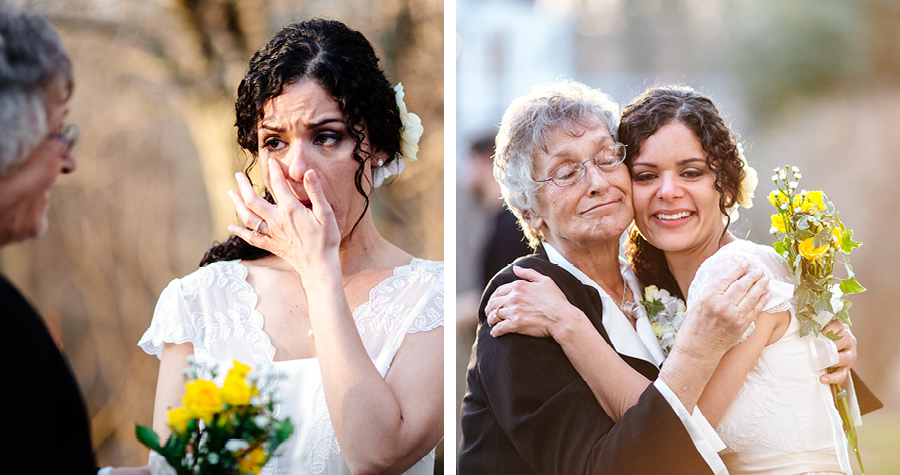 Olde Mill Inn Wedding Ceremony