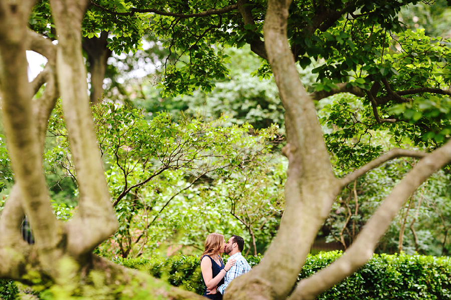 Conservatory Garden Engagement Session