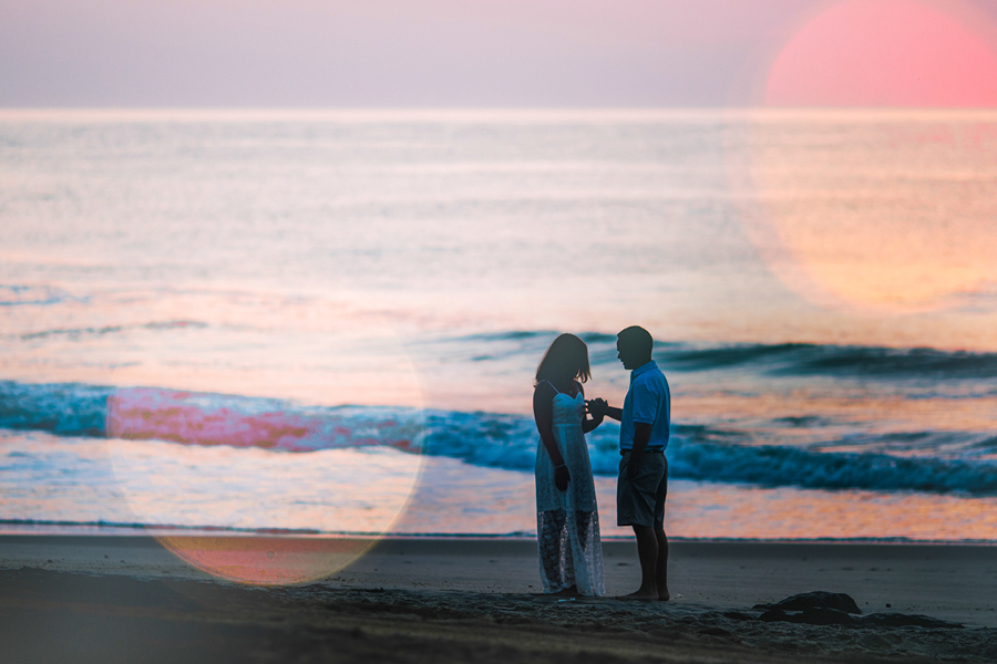 Sunrise Engagement Session in NJ