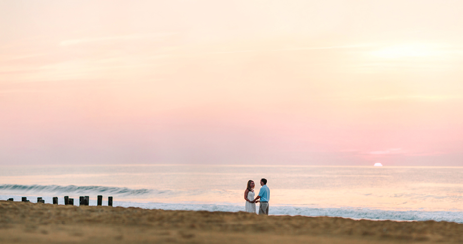 Pier Village Long Branch NJ Engagement Session