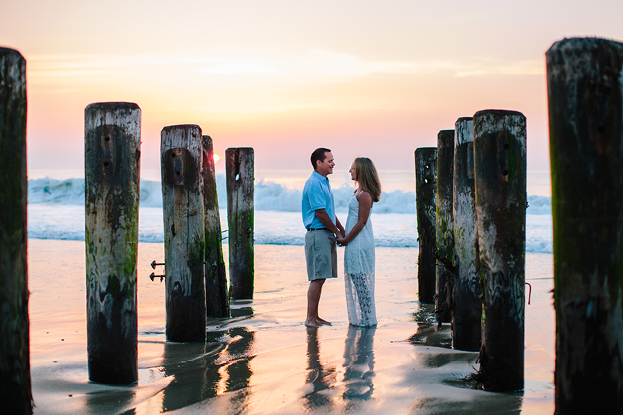 Sunrise Beach Engagement Photos