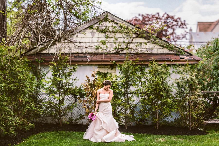 creative bride portrait neptune nj