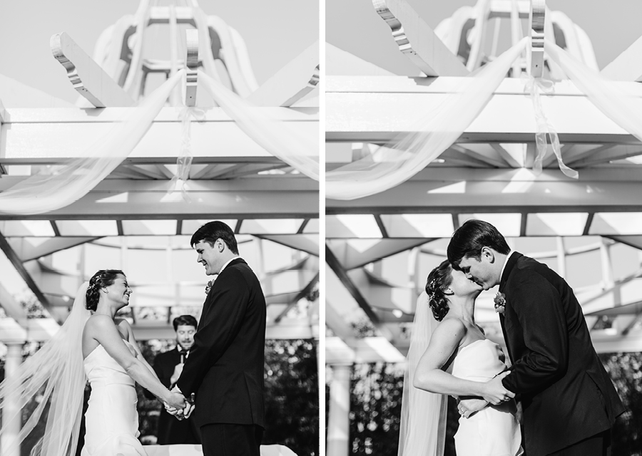 eagle oaks wedding ceremony photos