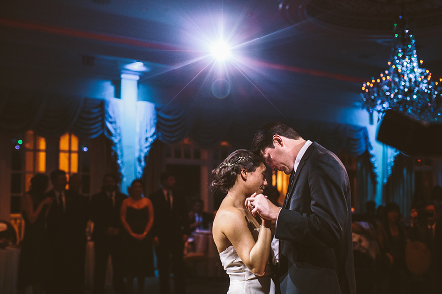 eagle oaks country club first dance photo