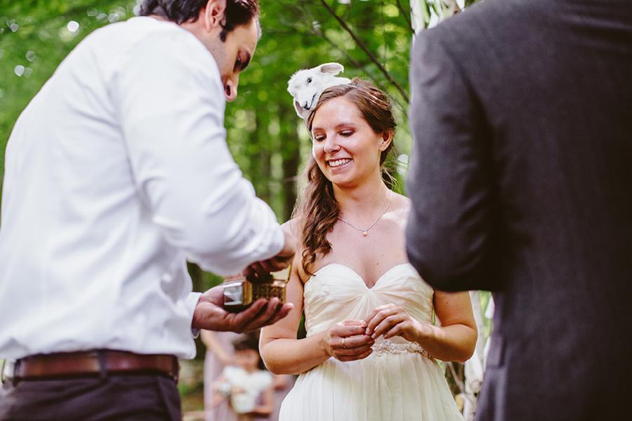 Fiddle Lake Farm Wedding Ceremony