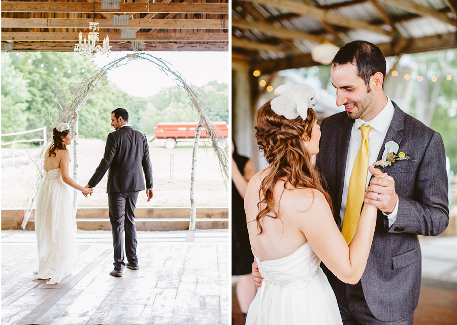 First Dance at Fiddle Lake Farm