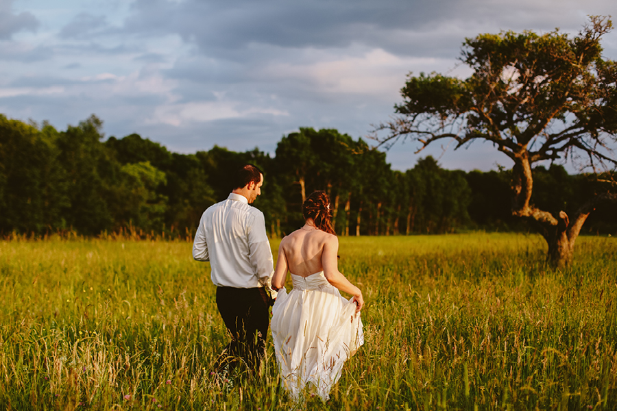 Farm Wedding portraits