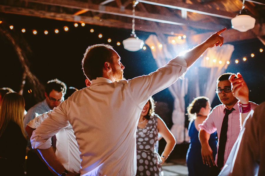 Fiddle Lake Farm Wedding Reception