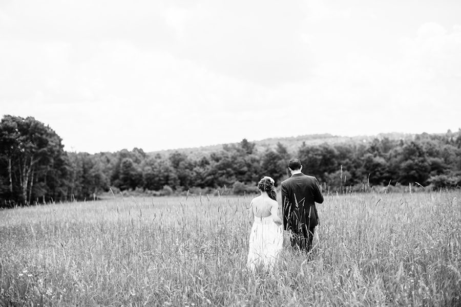 Fiddle Lake Farm Bride and Groom Portraits