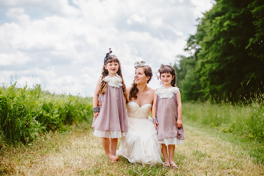 Fiddle Lake Farm Flower girls
