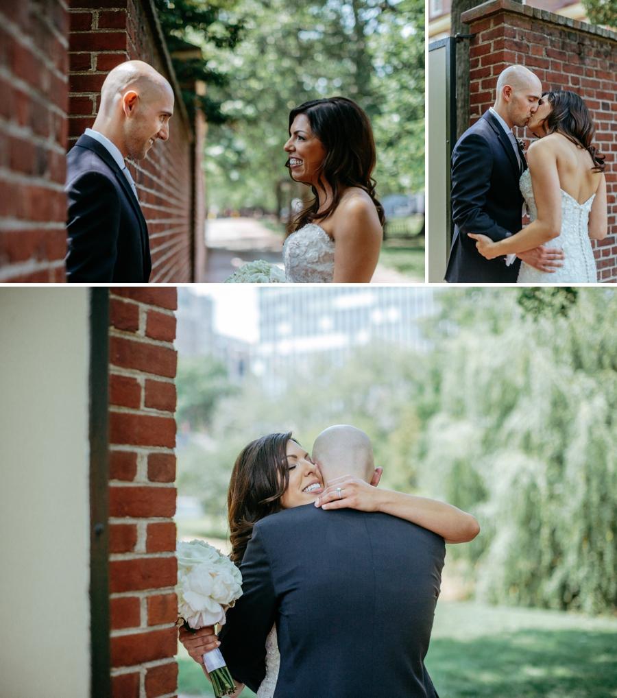 independence park wedding photos