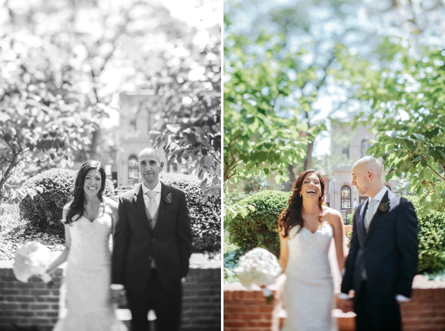 independence park wedding portraits