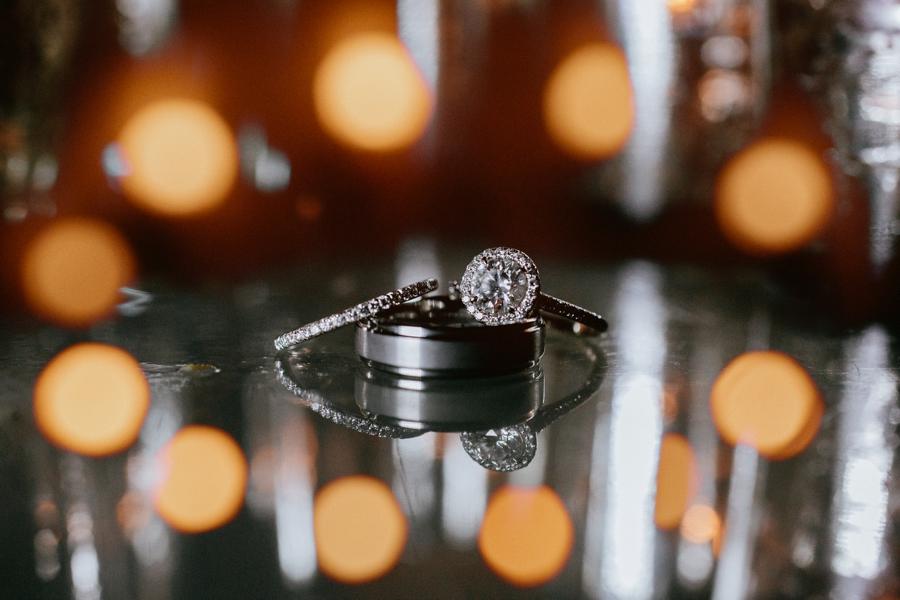artistic wedding ring photos