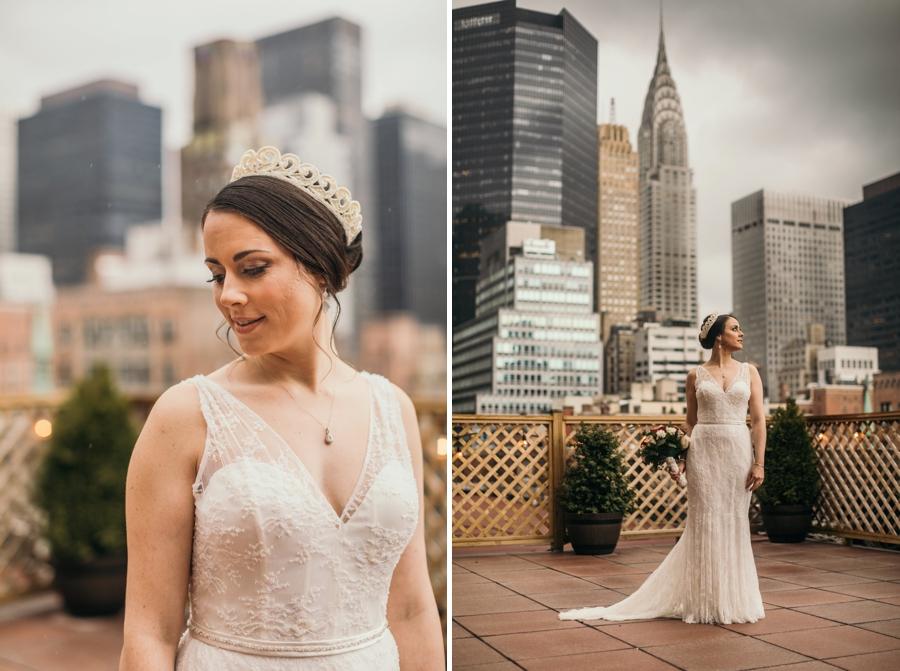 Bride Portraits Manhattan