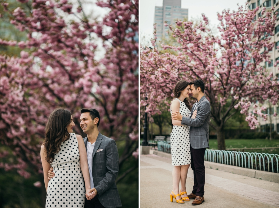 Spring Engagement Jersey City