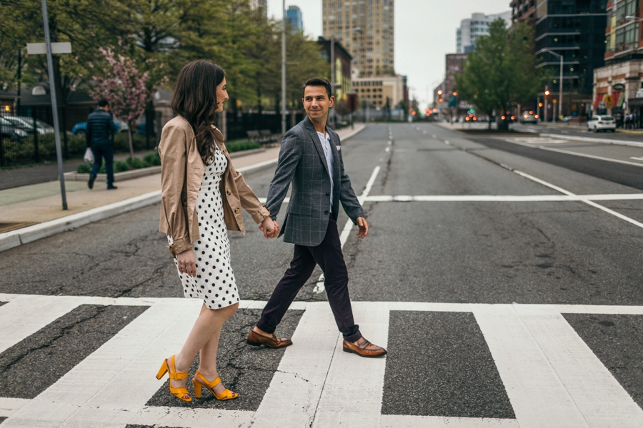 Jersey City Engagement Photos