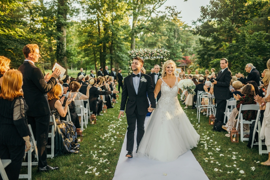 pleasantdale chateau wedding ceremony