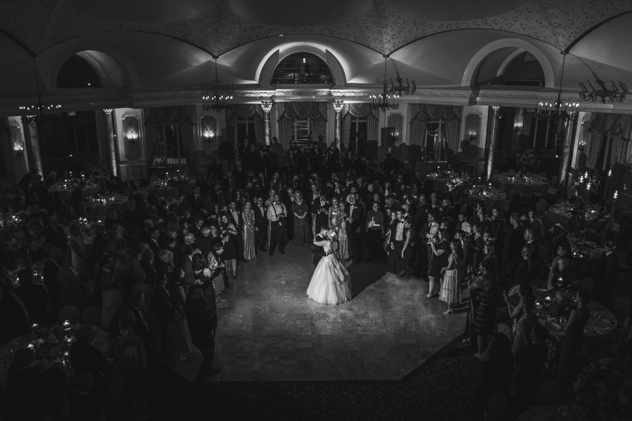 first dance at pleasantdale chateau