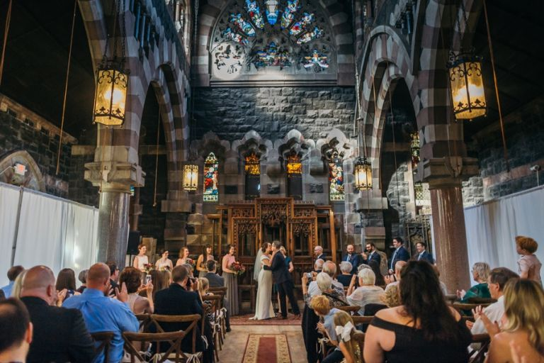 Hoboken Church of the Holy Innocents Wedding | Amanda and