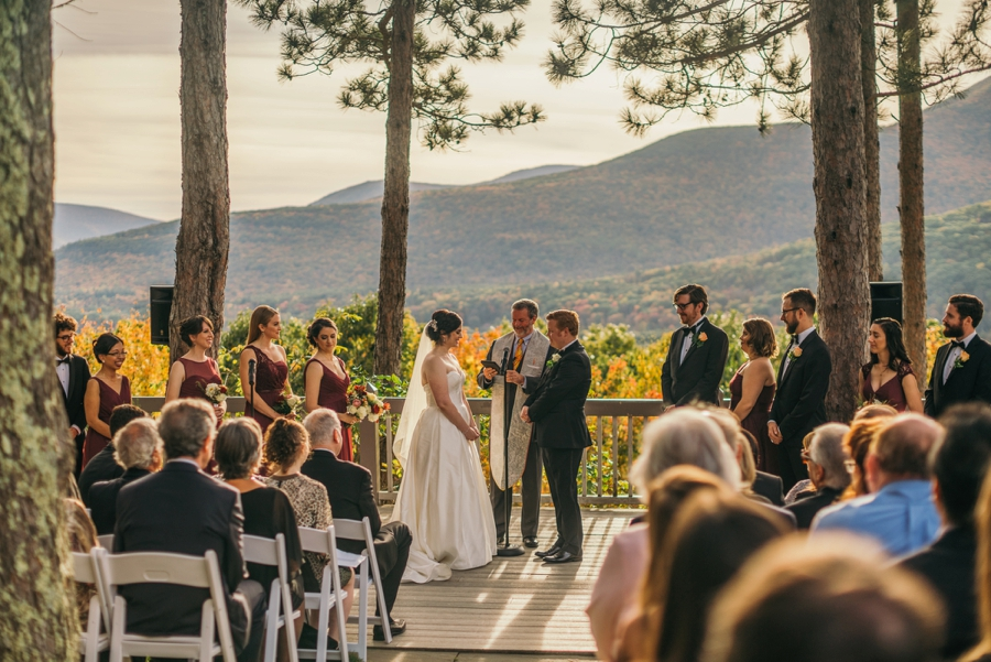 But Jessie And Stefan S Wedding Felt Extra Special Maybe It Was The Gorgeous Fall Backdrop Of Onteora Mountain House In Catskills